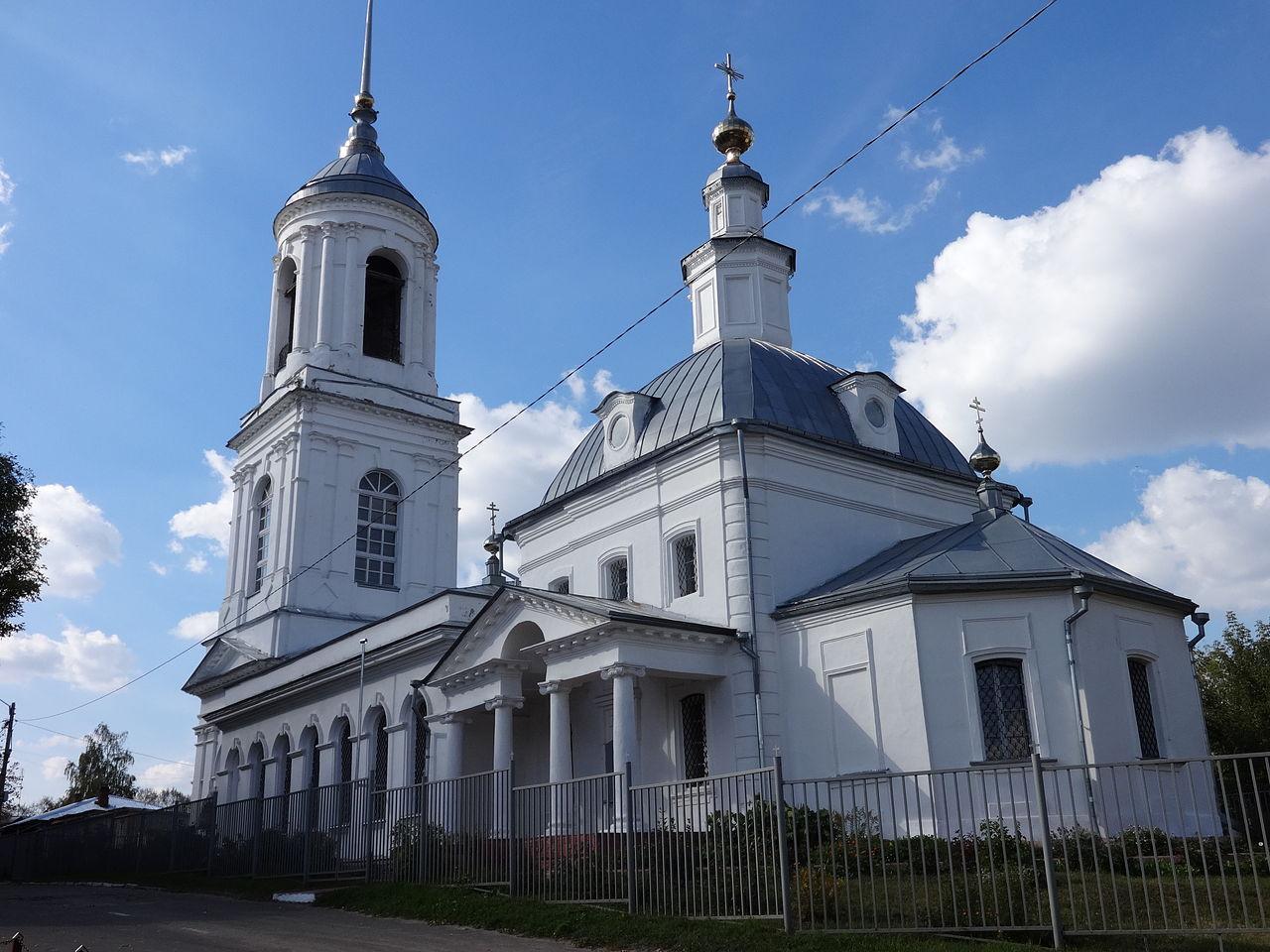 Церковь Смоленской иконы Божьей Матери в Муроме