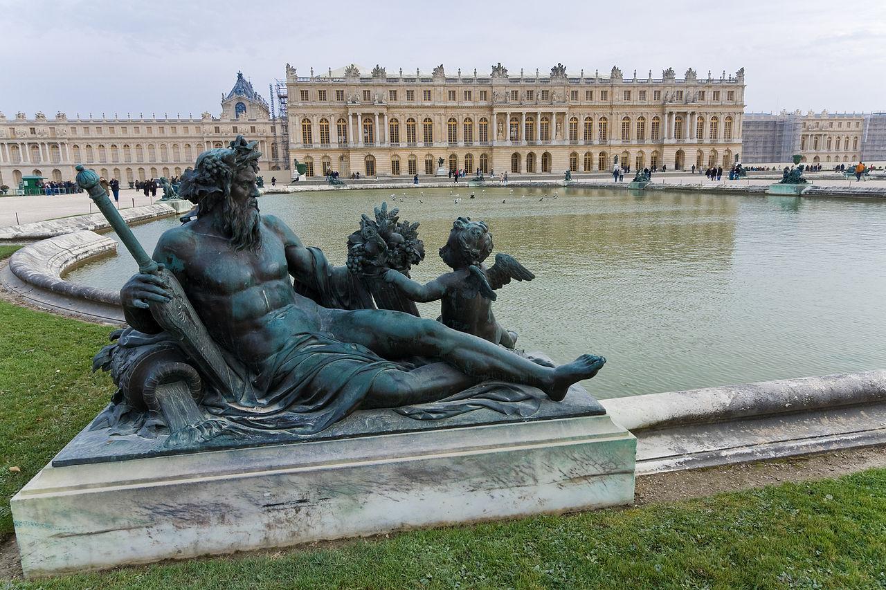 Версальский дворец, вид из парка