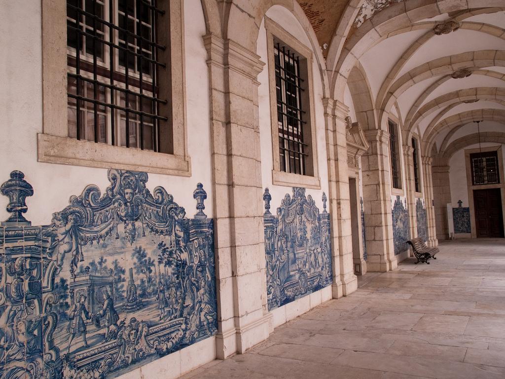 Интерьер монастыря Сан-Висенте-де-Фора