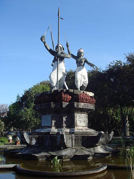 Памятник Puputan в Денпасаре