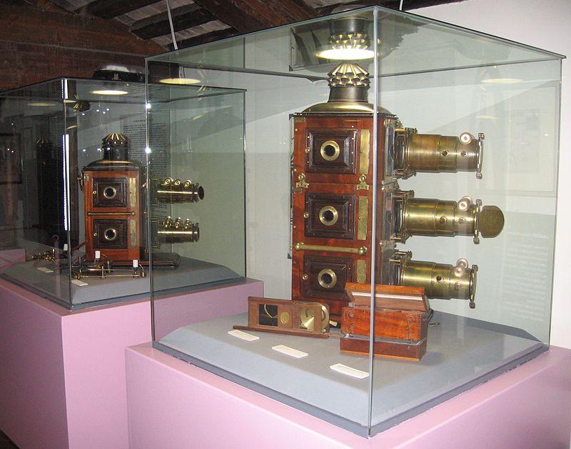 Экспонаты музея «Пречинема»