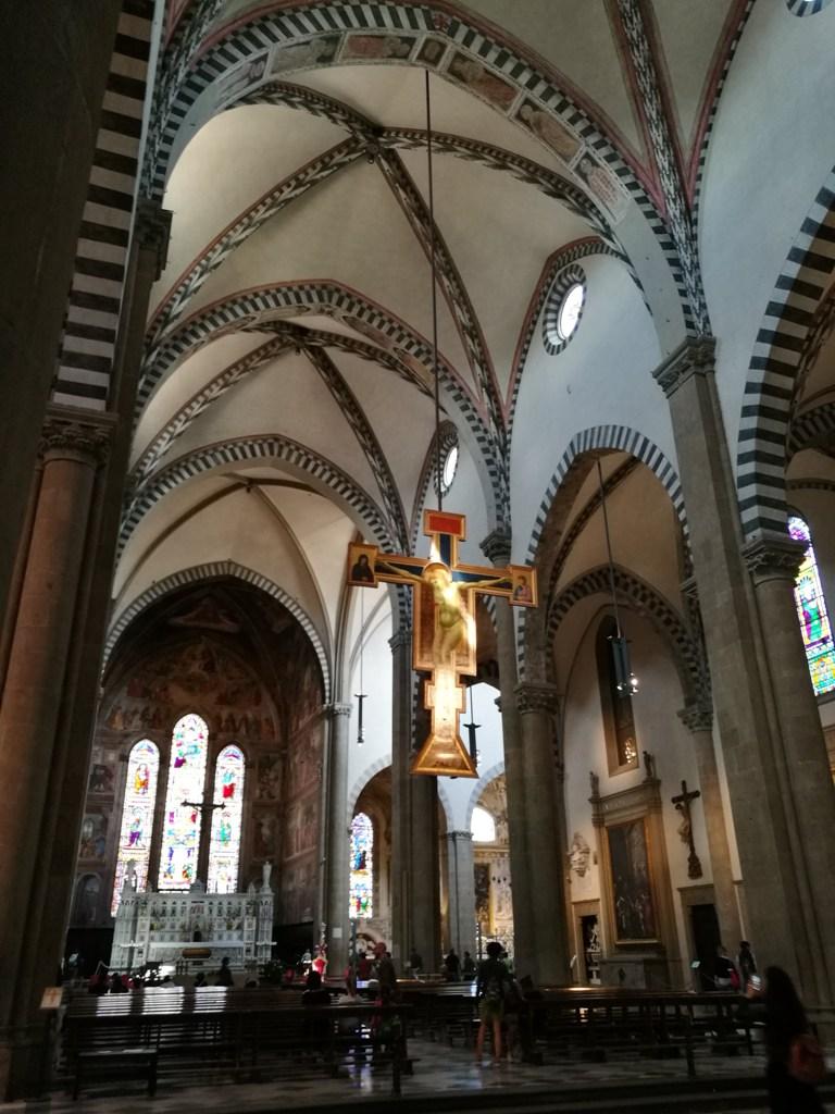 Внутреннее убранство собора во Флоренции, Италия