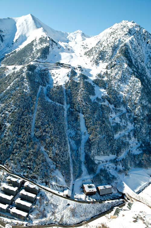 Вид на горы, Андорра