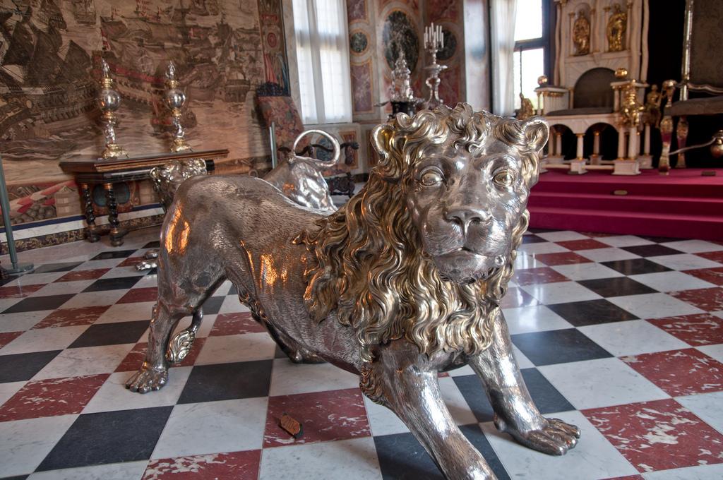 Золотой лев, Замок Розенборг, Копенгаген