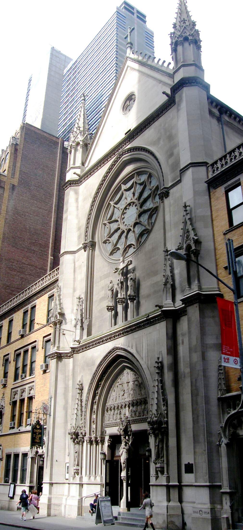 Таймс-Сквер, церковь Святой Девы Марии