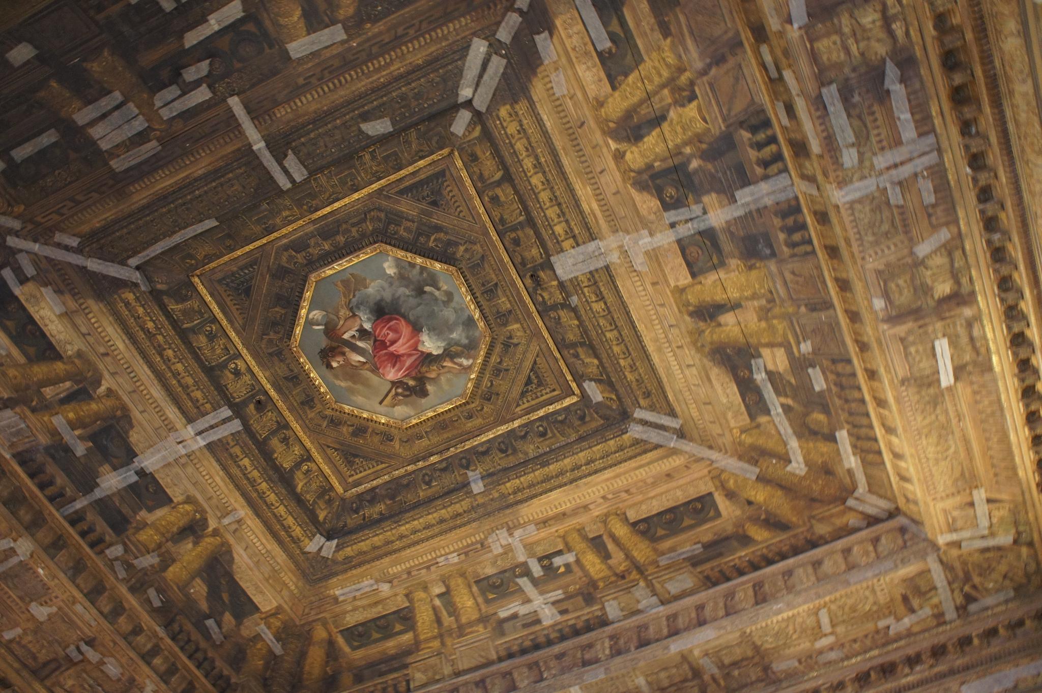 Библиотека Марчиана, потолки