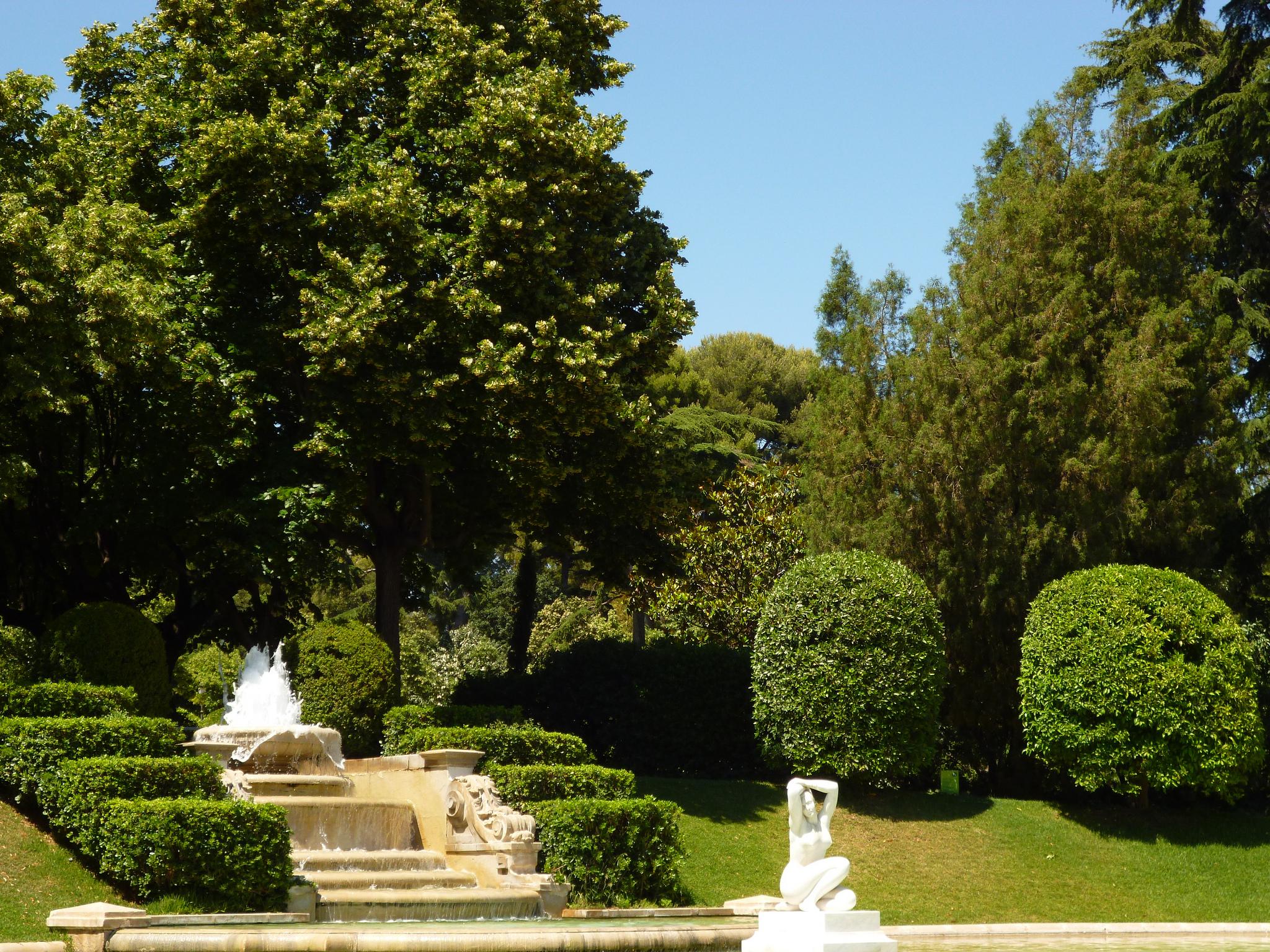 Дворцовый парк, Педральбес