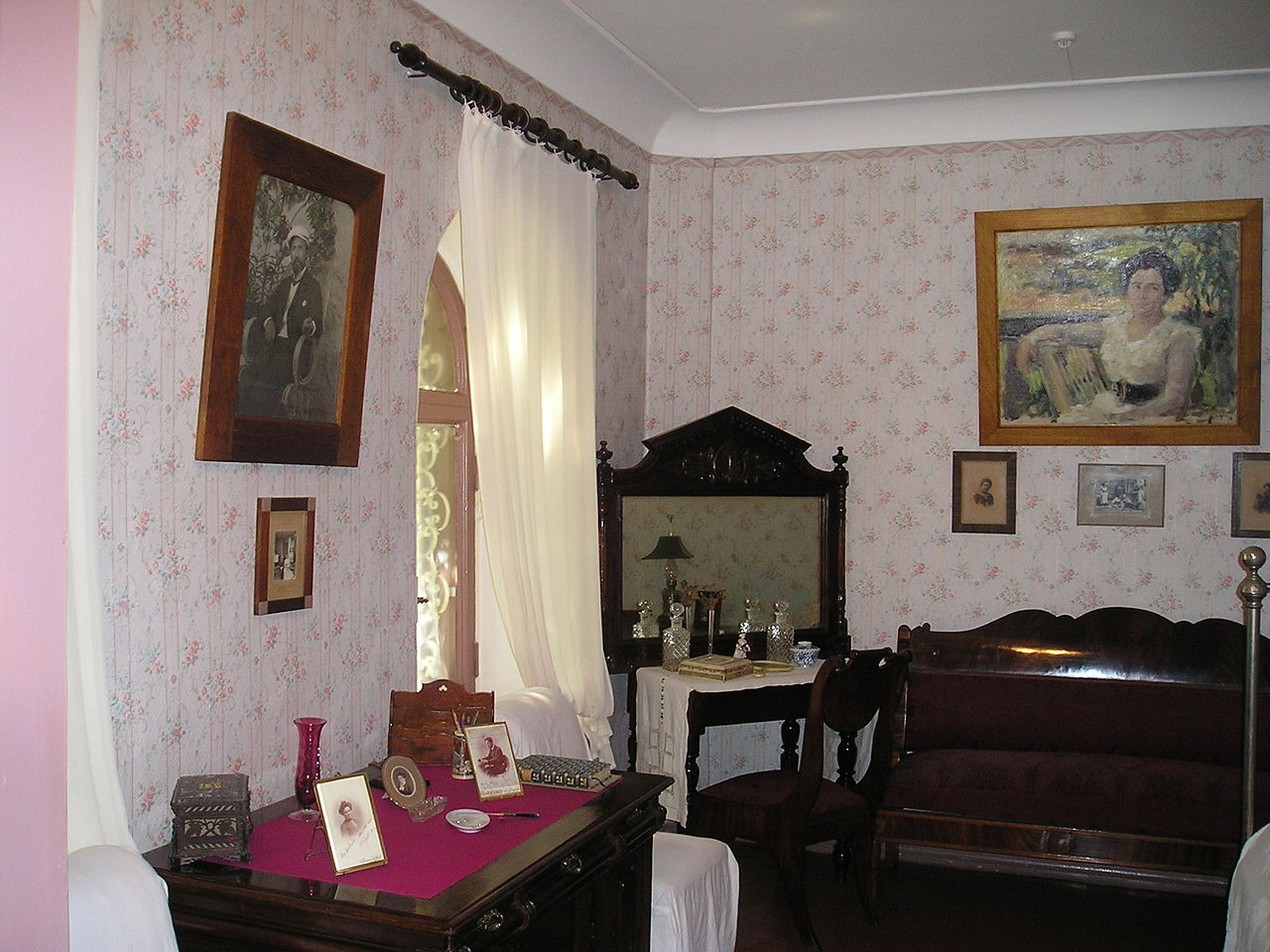 Дом-музей А. П. Чехова в Ялте, интерьер