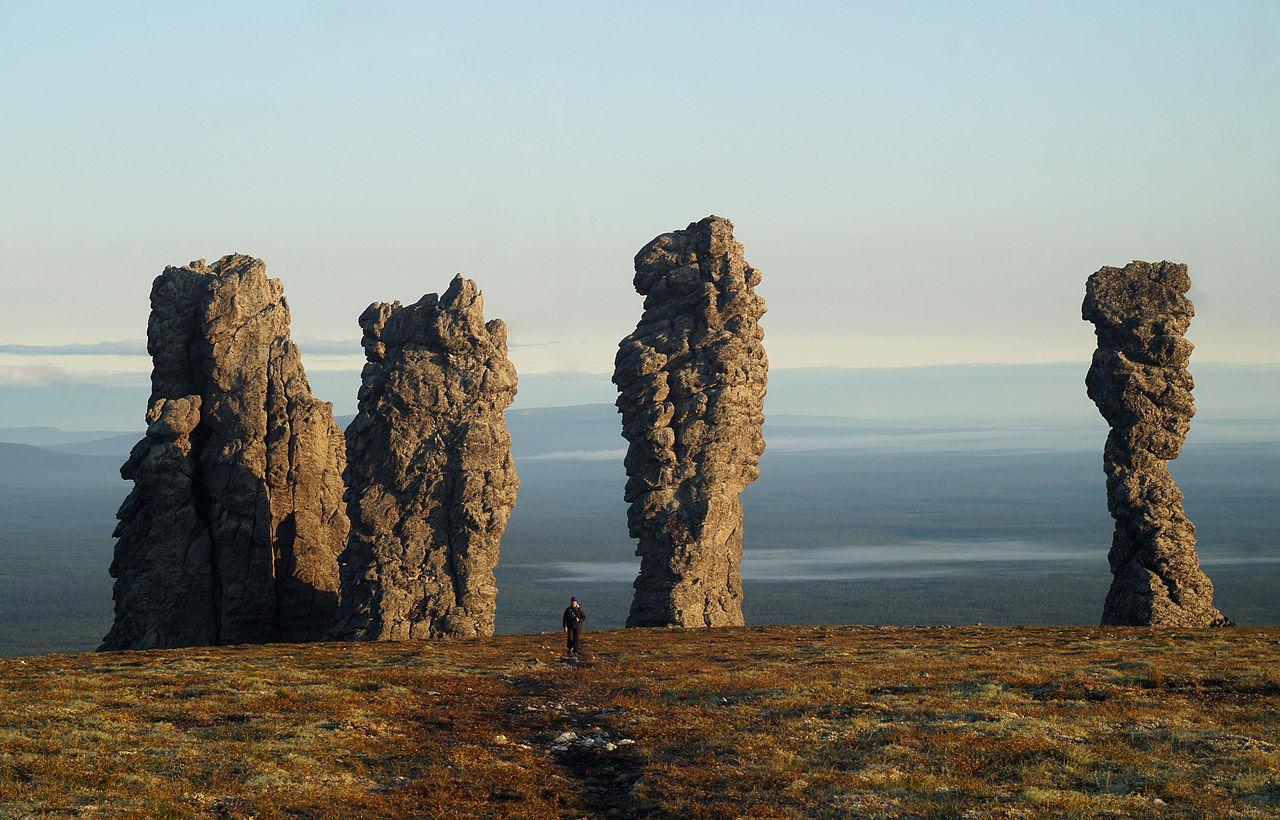 Маньпупунёр (геологический памятник Урала)