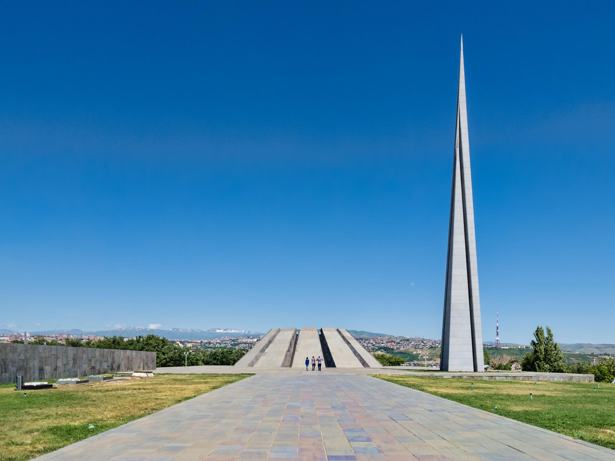 Мемориальный комплекс геноцида армян в Ереване