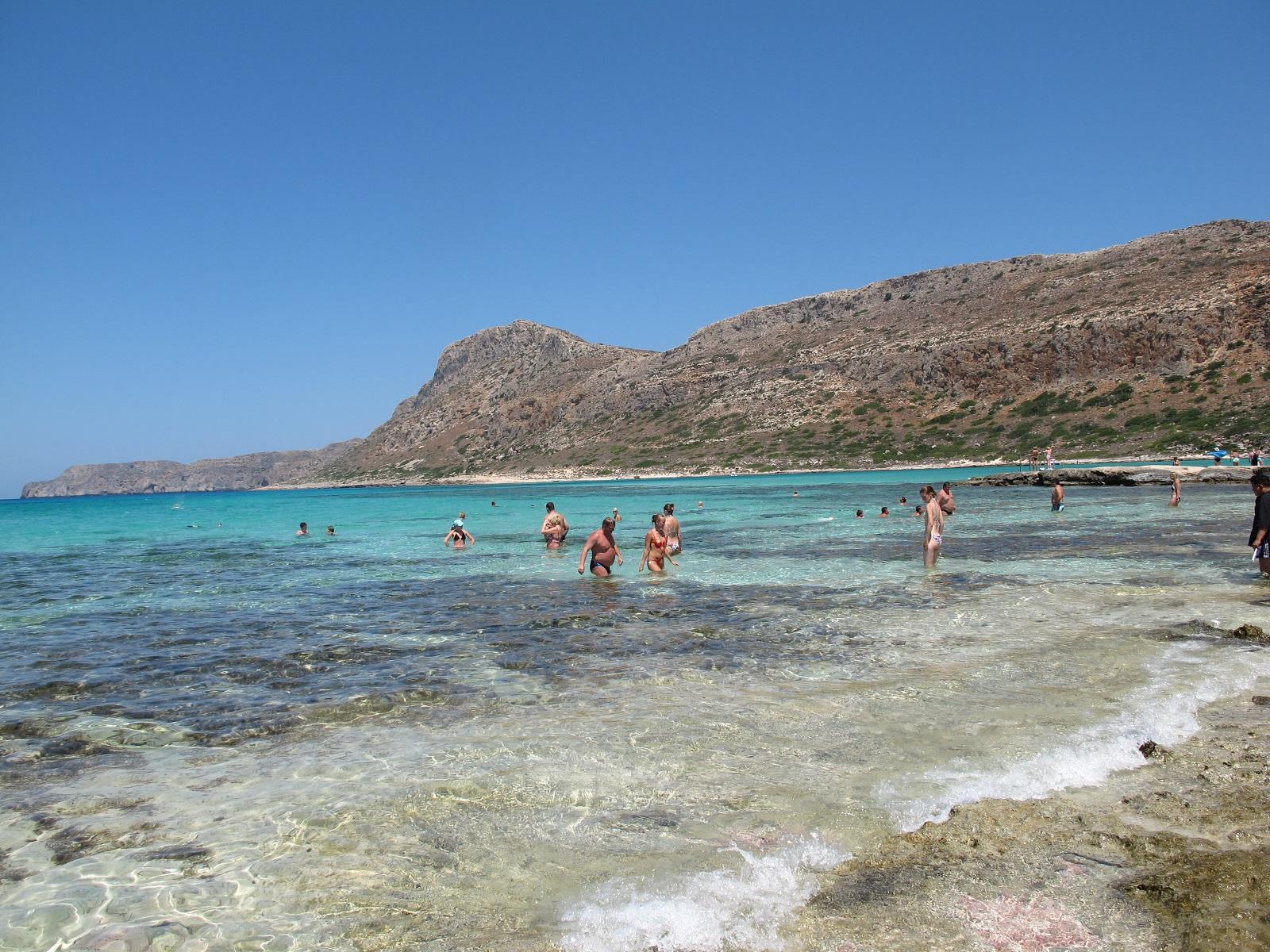 Вода в бухте Балос, Крит, Греция