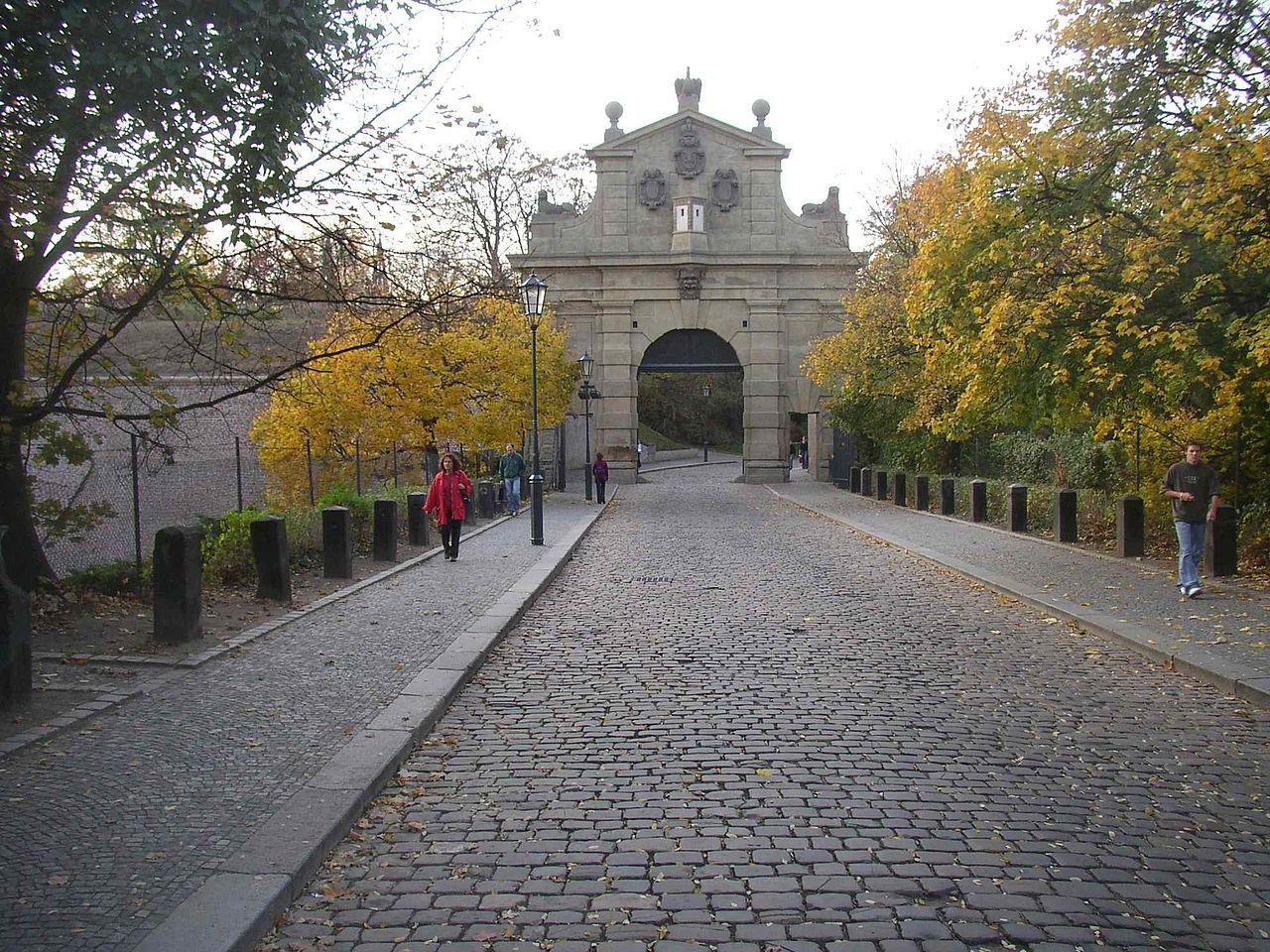 Вышеград, ворота Леопольда