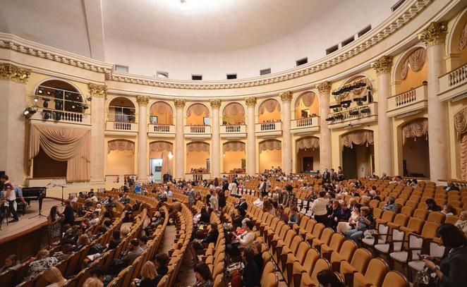 Зрительный зал Зимнего театра, Сочи