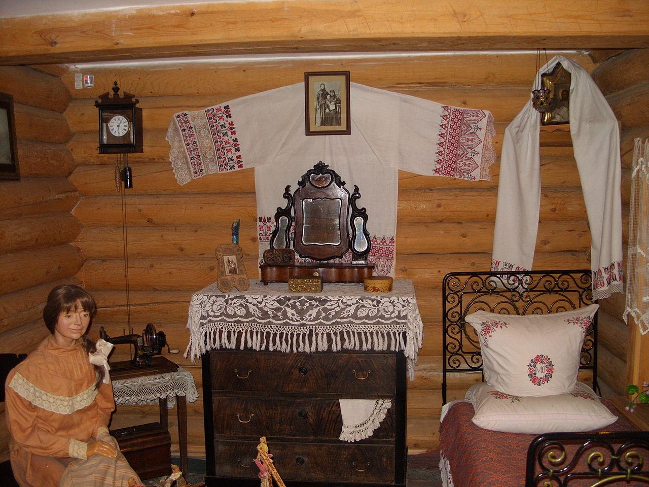 Красноярский краеведческий музей, интерьер жилища