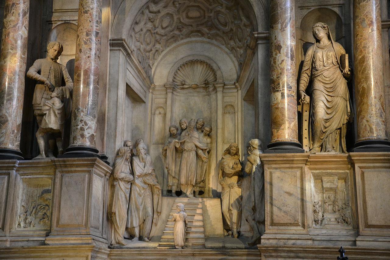 Миланский собор, скульптурная композиция