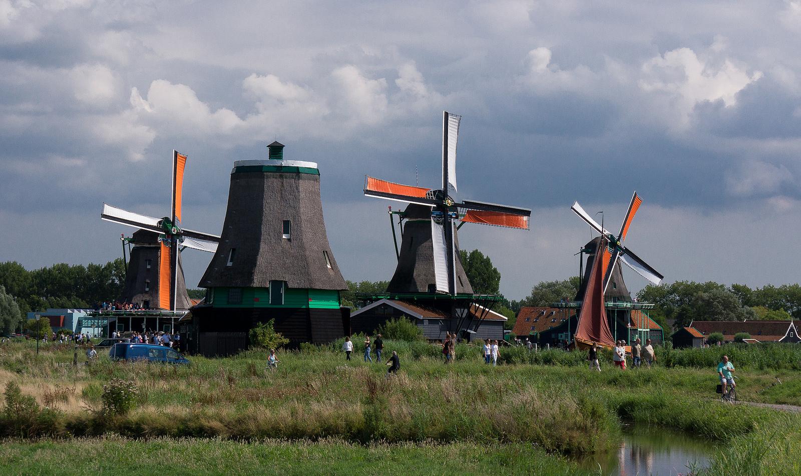 Музей Зансе-Сханс в Нидерландах