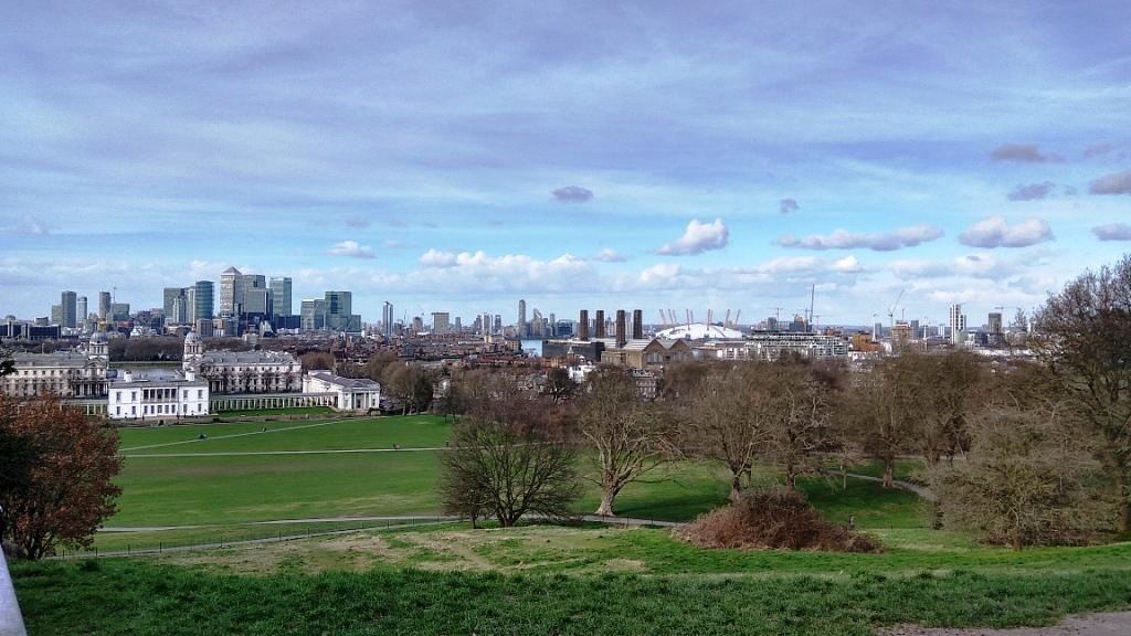 Парк Гринвич и виды Лондона