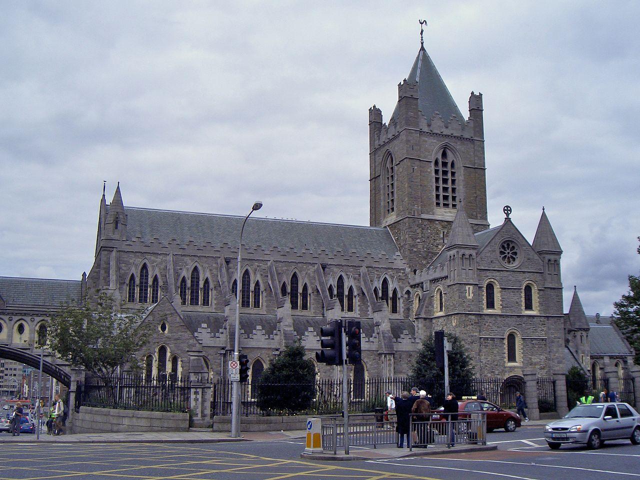 Церковь Крайст-чёрч (собор Церкви Христовой) в Дублине