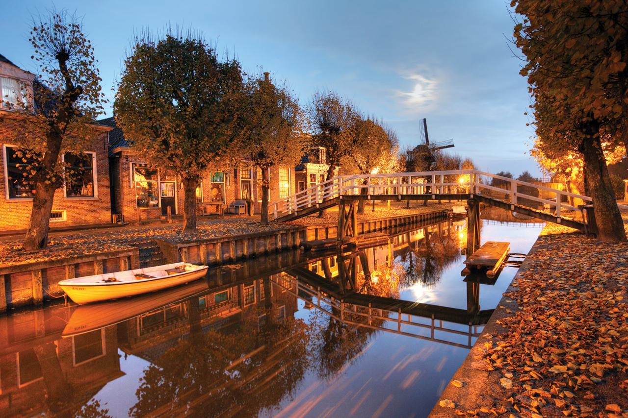Деревушка Слотен в 6 км от Амстердама