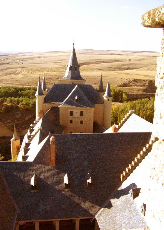 Панорама с замковой башни Сеговии