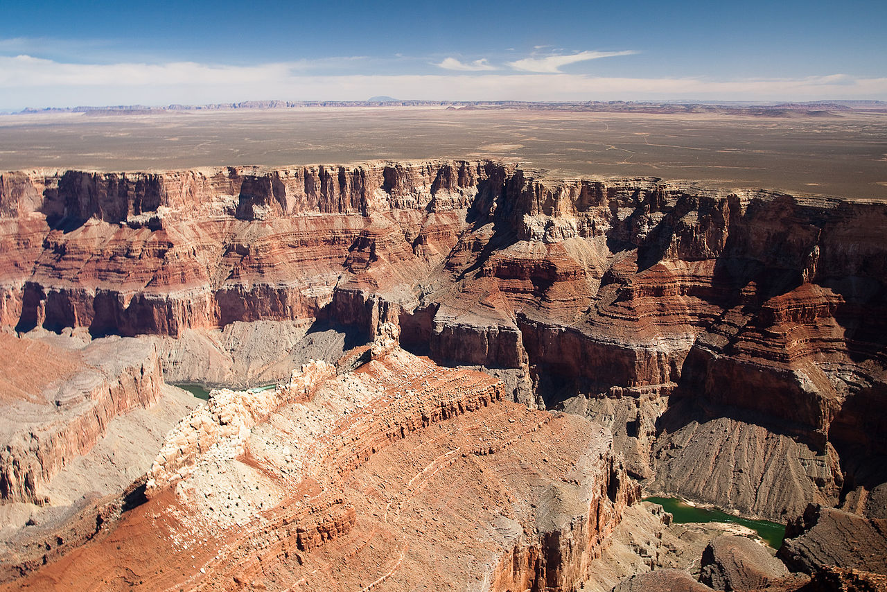 Национальный парк Гранд-Каньон, вид с воздуха
