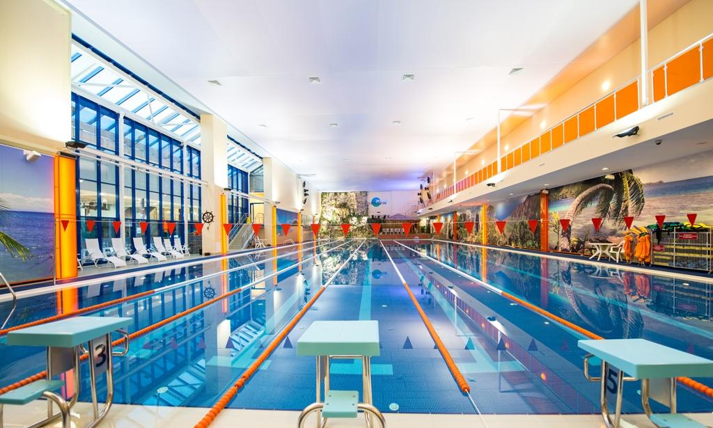Тренировочный бассейн, Аквазона фитнес-центра «Кимберли Лэнд», Москва