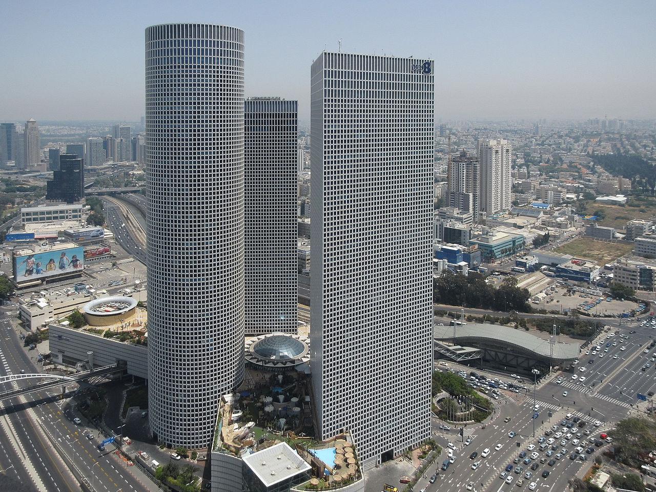 Центр Азриэли, Тель-Авив