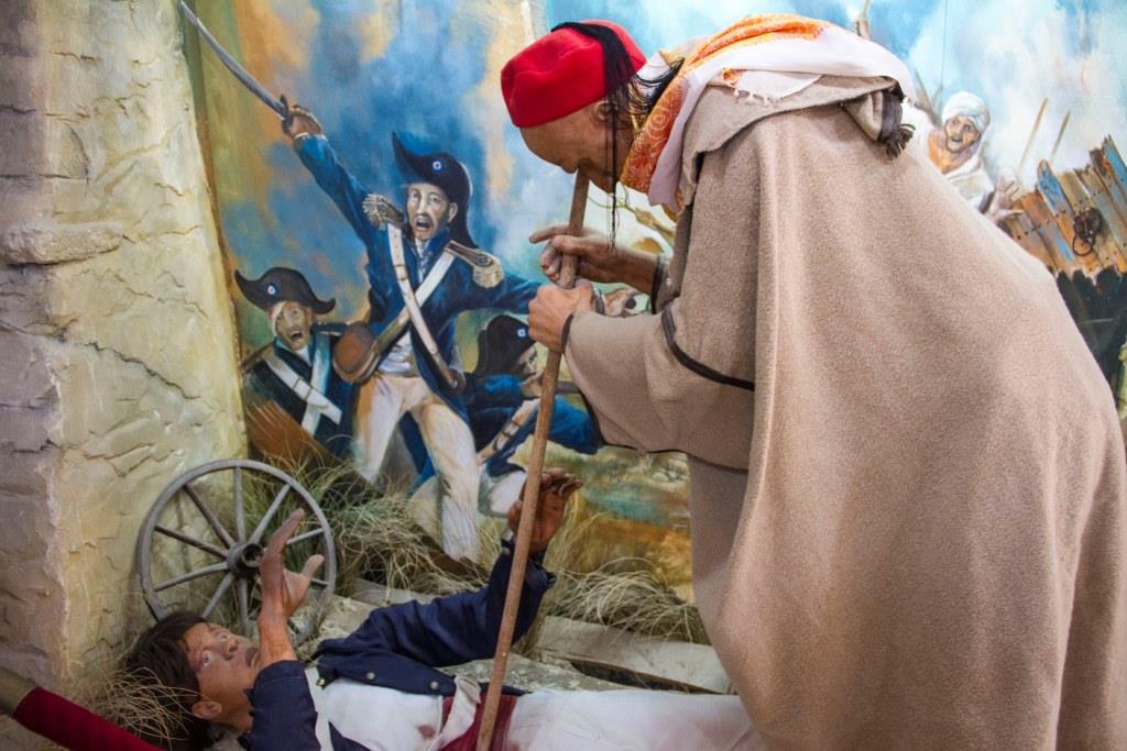 Экспонаты Музея истории Хаммамета
