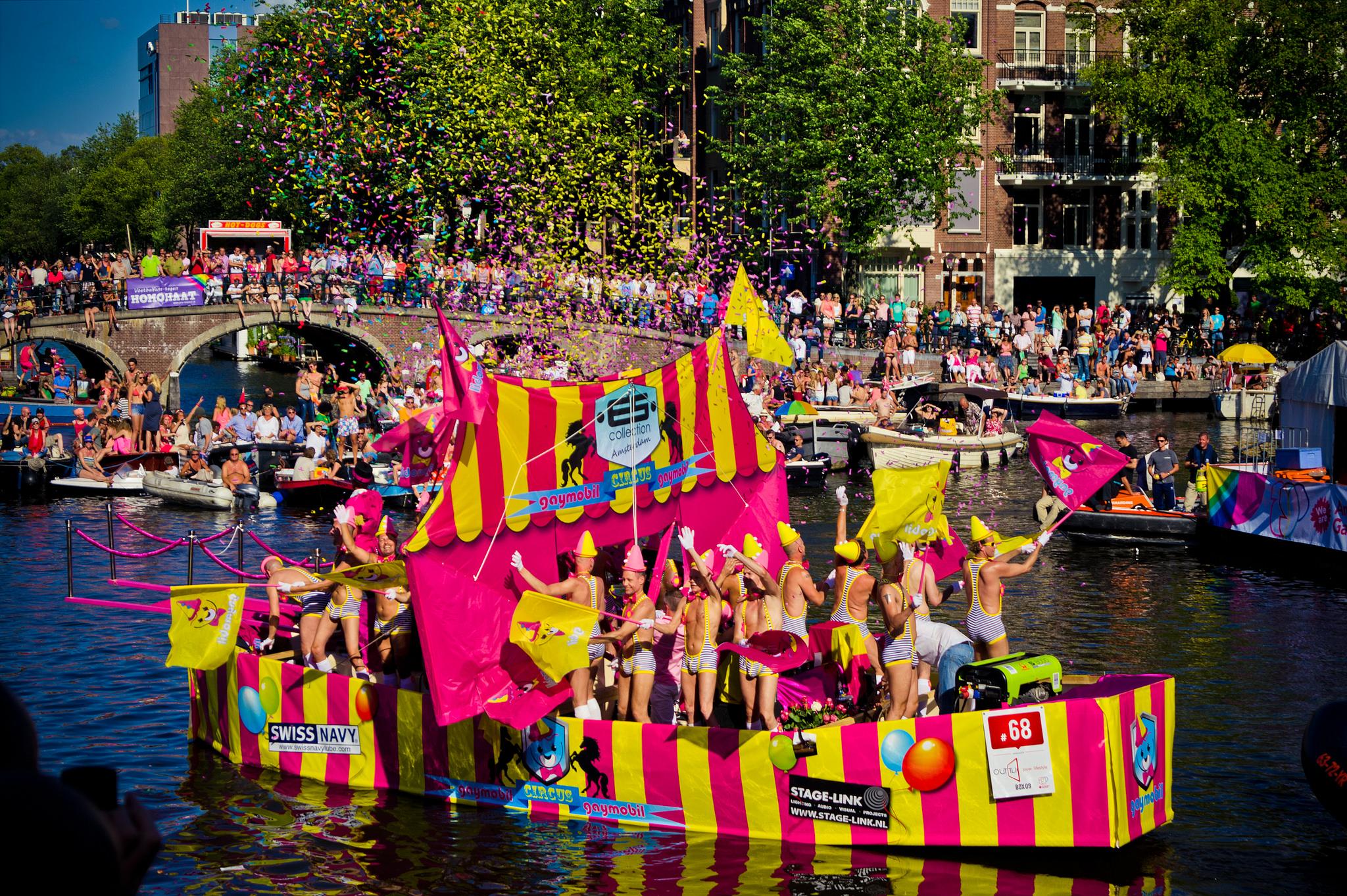 Геи в амстердаме