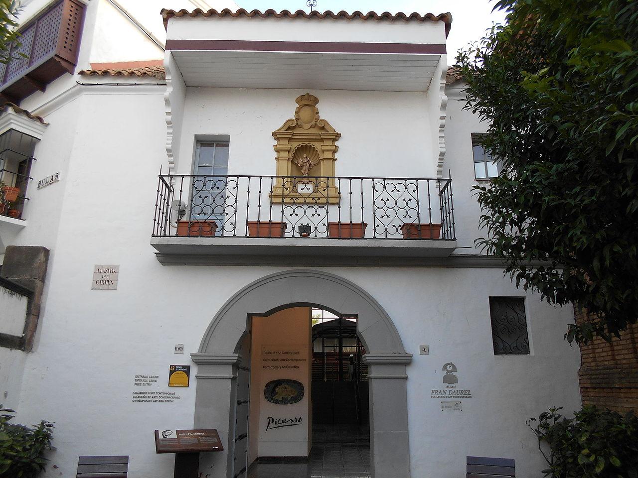 Испанская деревня, музей Франа Дауреля