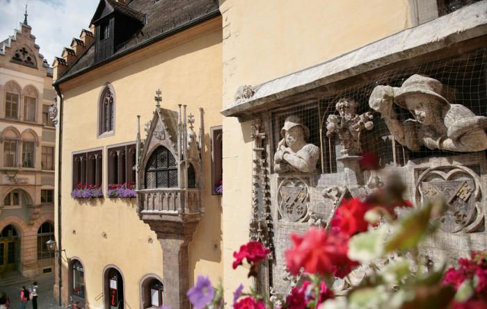 Стены старой Ратуши, Регенсбург.jpg