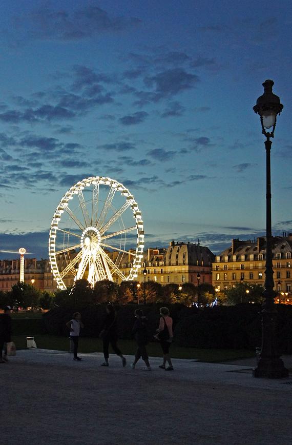 Аттракционы в Париже, Франция