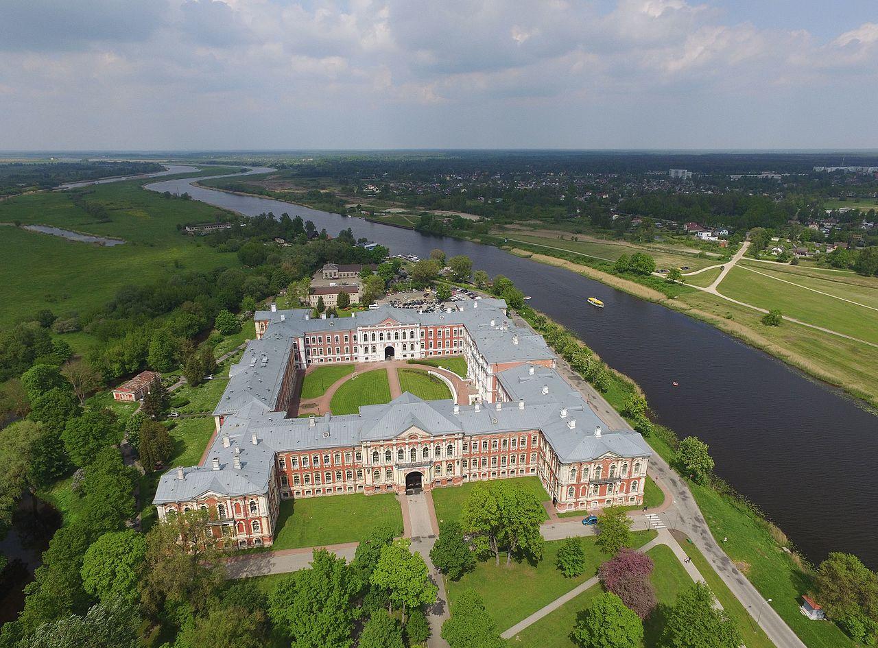 Митавский дворец, Латвия