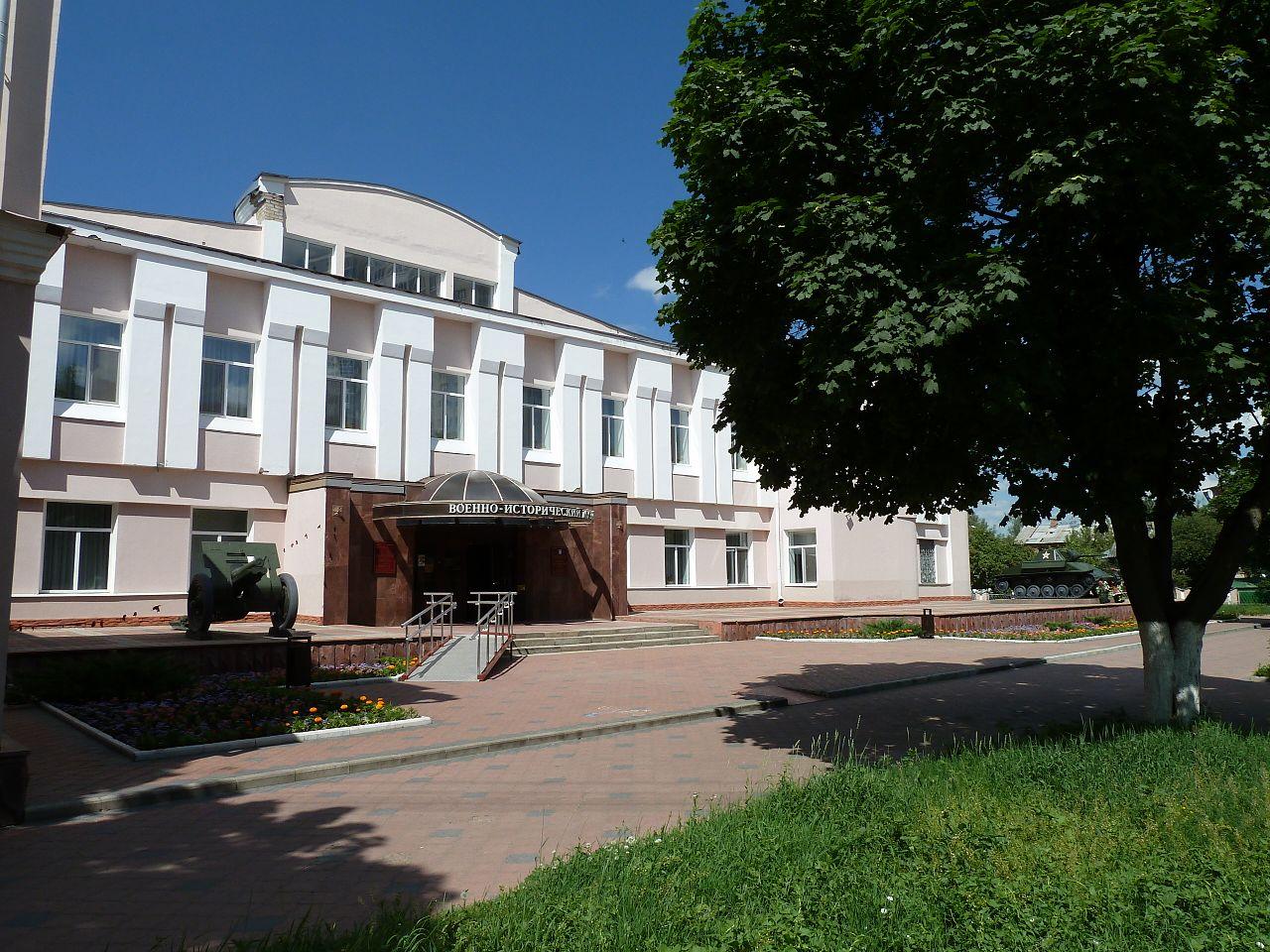 Орловский военно-исторический музей, вход
