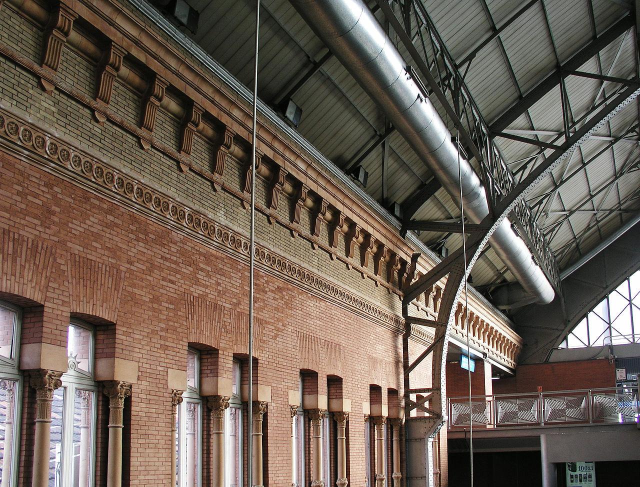 Вокзал Аточа, деталь конструкции