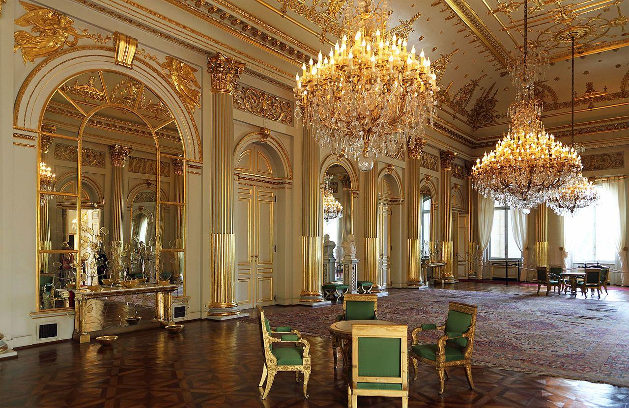 Королевский дворец в Брюсселе || Palais Royal de Bruxelles _дворец_в_Брюсселе%2C_интерьер