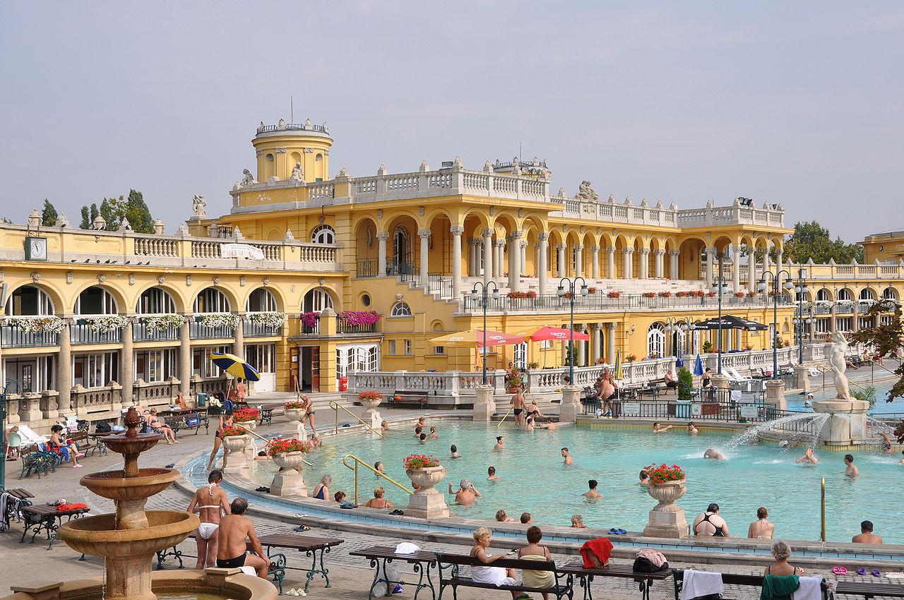купальни будапешт сечени фото