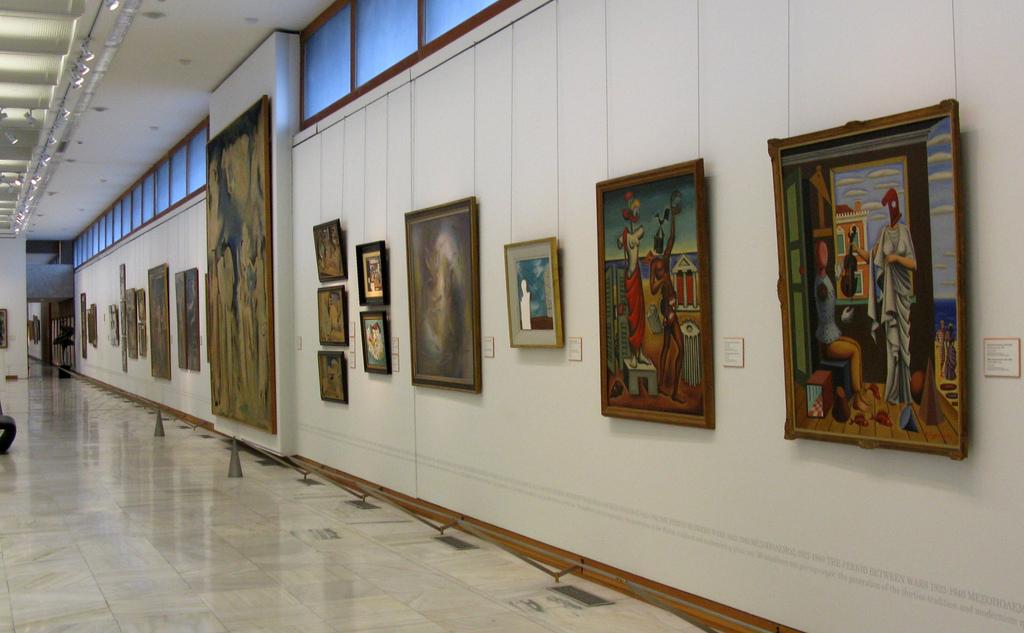 Национальная художественная галерея Афин, экспозиция