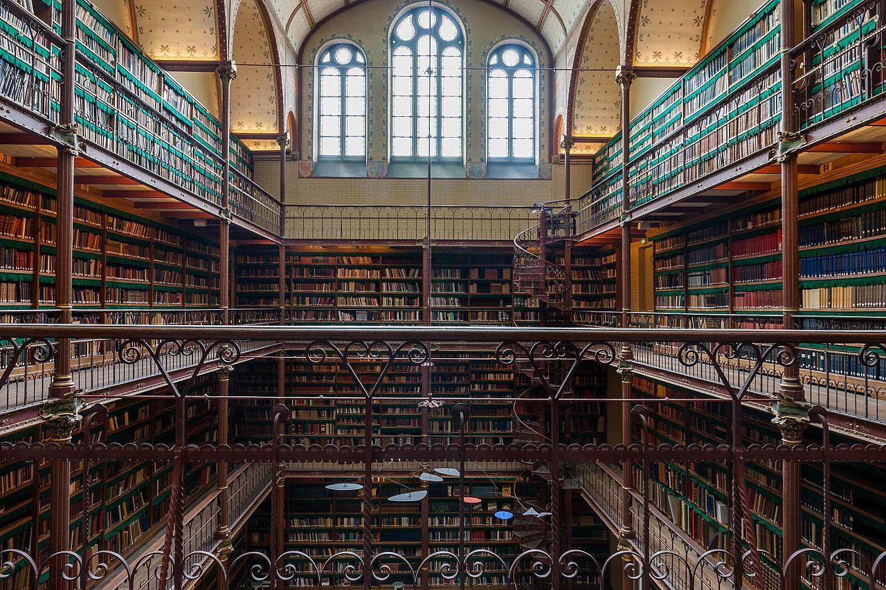 Рейксмузеум, библиотека