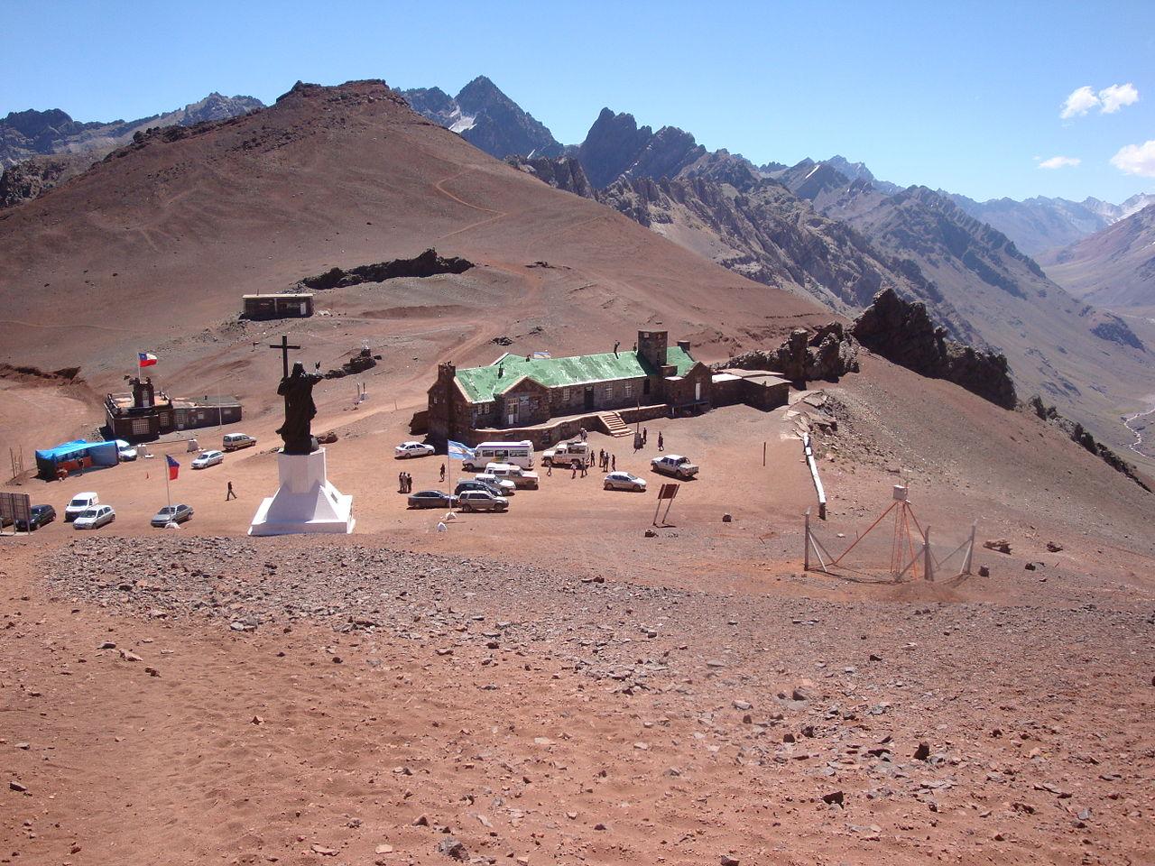 Статуя Христа-Искупителя на чилийско-аргентинской границе
