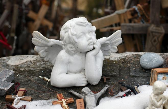 Ангел на горе крестов