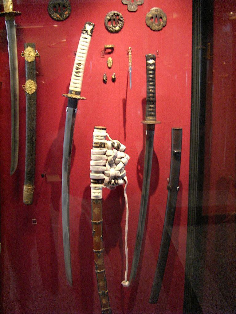 Дрезденская оружейная палата, самурайские мечи