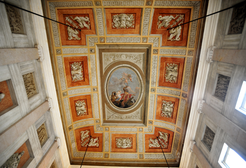Музей Коррер, потолок