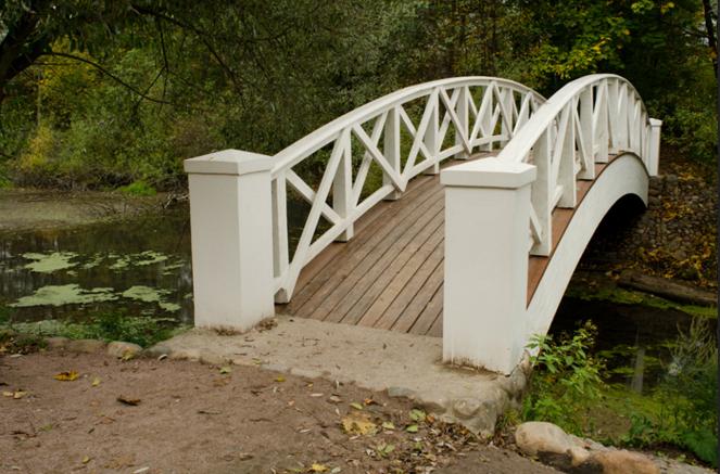 Парк в усадьбе Остафьево