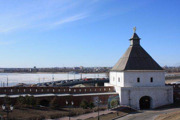 Стены древнего Кремля, Казань