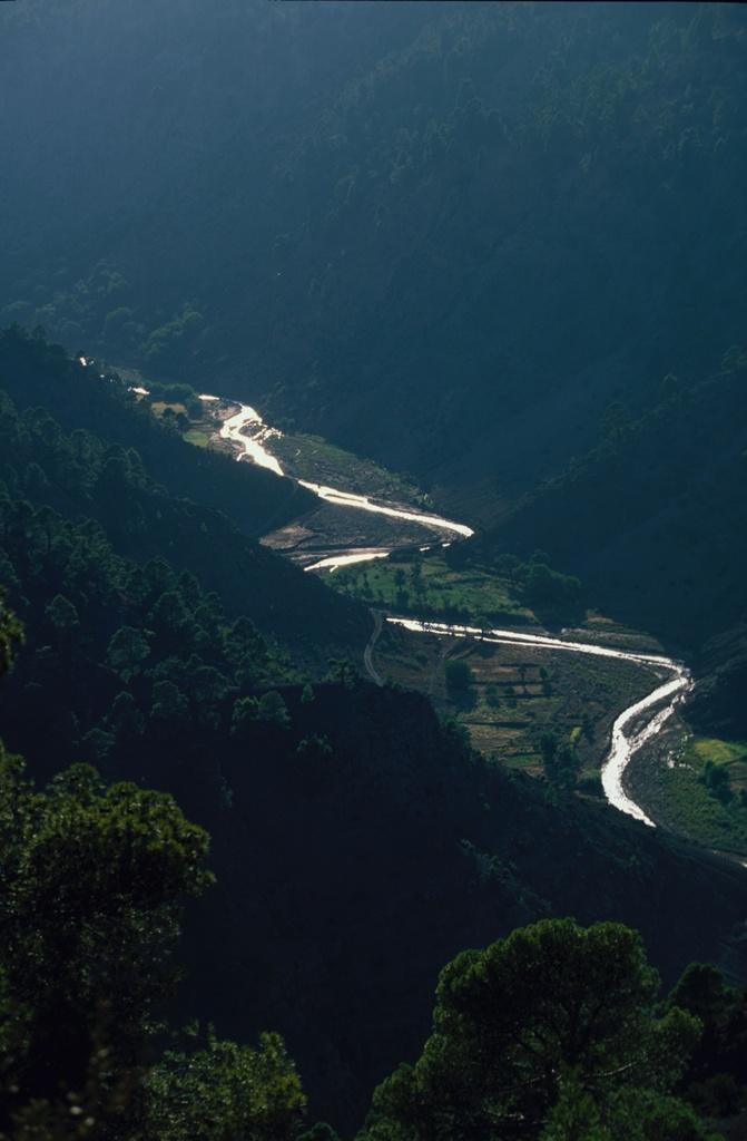 Вид на долину Высокий Атлас, Марокко