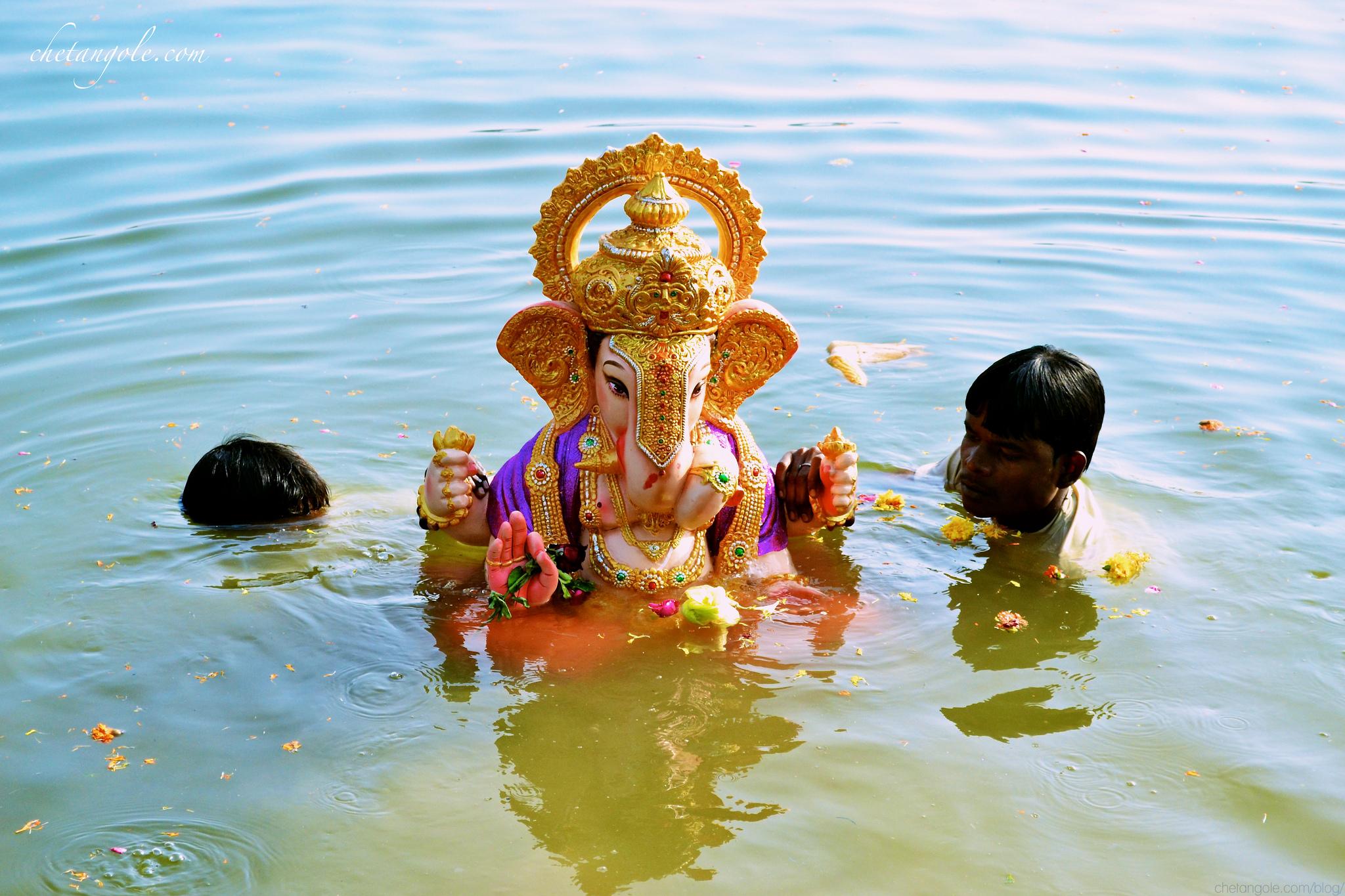 День рождения Бога Ганеша с головой слона