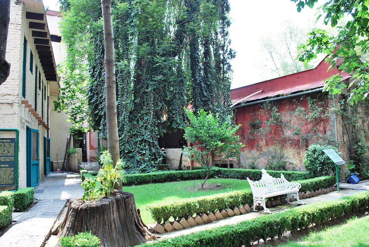 Дом Троцкого, сад