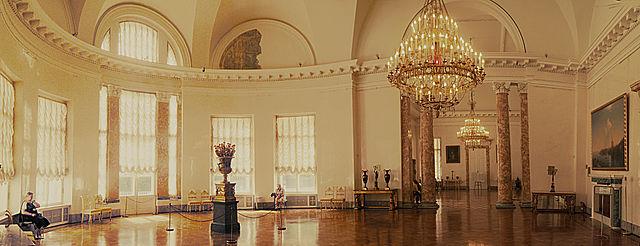Залы Александровского дворца, Пушкин