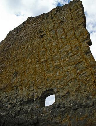 Отверстие в скале Парус, Геленджик